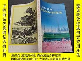 二手書博民逛書店全國鐵路旅客列車時刻表罕見19772931 人民鐵道出版社 人民