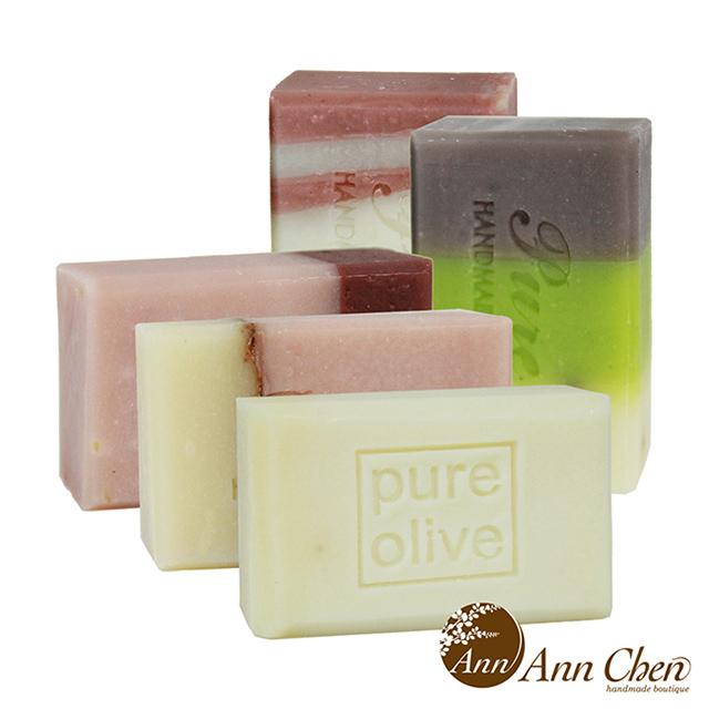 陳怡安手工皂-玫瑰純淨舒緩手工皂五入特惠組