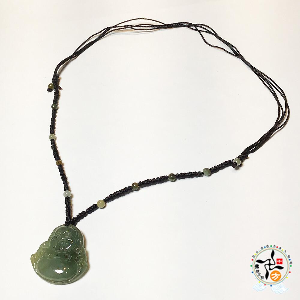 玉 彌勒佛 中國結項鍊十方佛教文物