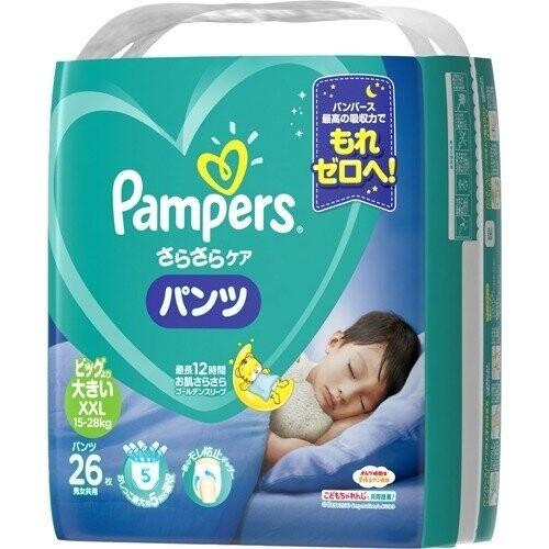 pampers全新幫寶適巧虎褲(夜用)紙尿褲xxl26片(每箱/4包)(全日文包裝)