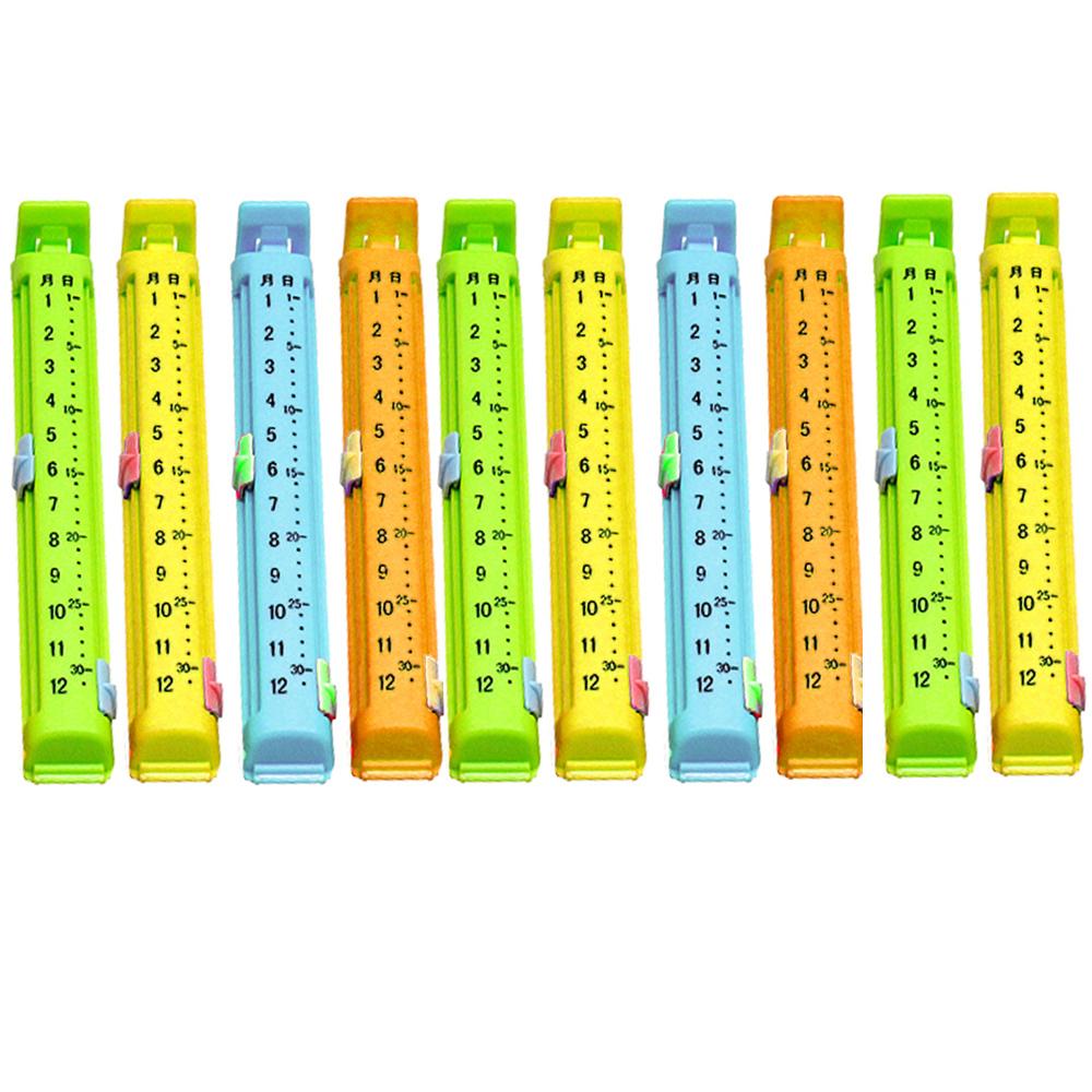 日期保鮮封口短夾10入組(2392X2)