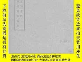 二手書博民逛書店敦煌石室訪書記/1935年版【罕見件】231972 伯希和 國立
