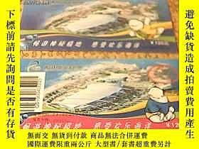 二手書博民逛書店門票罕見青島極地海洋世界門票1張+紀念票1張21239