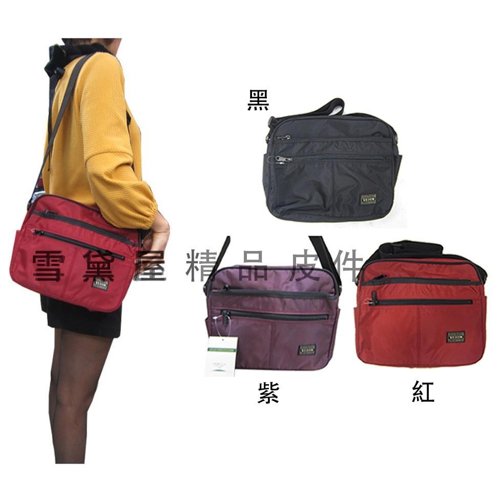 ~雪黛屋~yeson 肩側包中容量多隔層外插筆台灣製品質保證ykk零件釦具高單數防水尼龍布超耐磨損耐