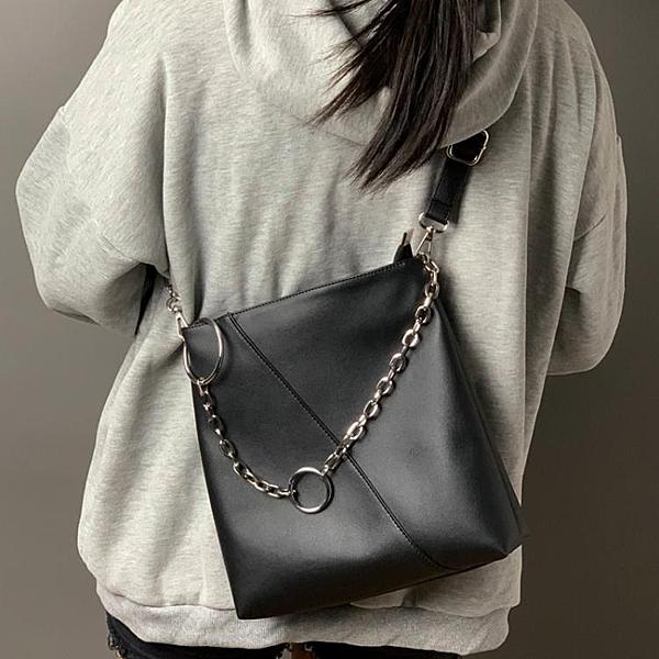 法版小眾包包大容量單肩包女2020新款時尚斜挎包百搭托特大包【果果新品】