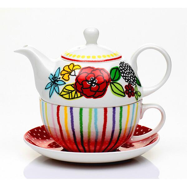 r&d皇家公爵骨瓷西式茶壺馬克杯碟組(一壺一杯一碟獨特設計)