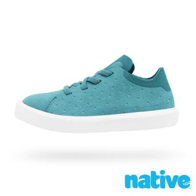 native 大童鞋 MONACO 短筒小摩納哥休閒鞋-湖水綠x貝殼白