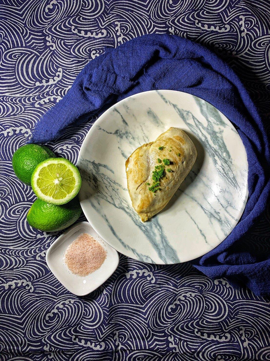 OHANAFIT 手作輕食 青檸海鹽 即食舒肥雞胸肉1包入 160g/包