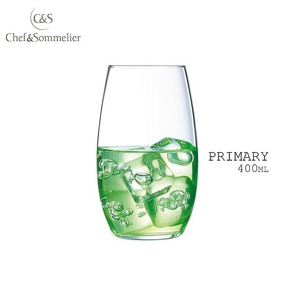法國Chef & Sommelier PRIMARY玻璃水晶啤酒杯 果汁杯 400ml 水杯 飲料杯 C&S 活動專用