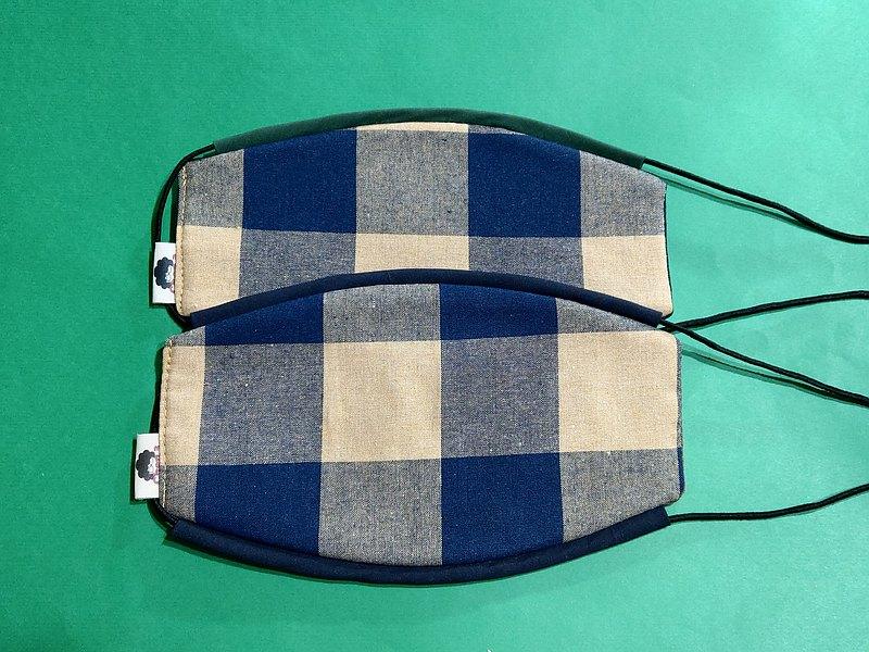 手工限量立體口罩  純棉不織布  舒適  透氣  可水洗