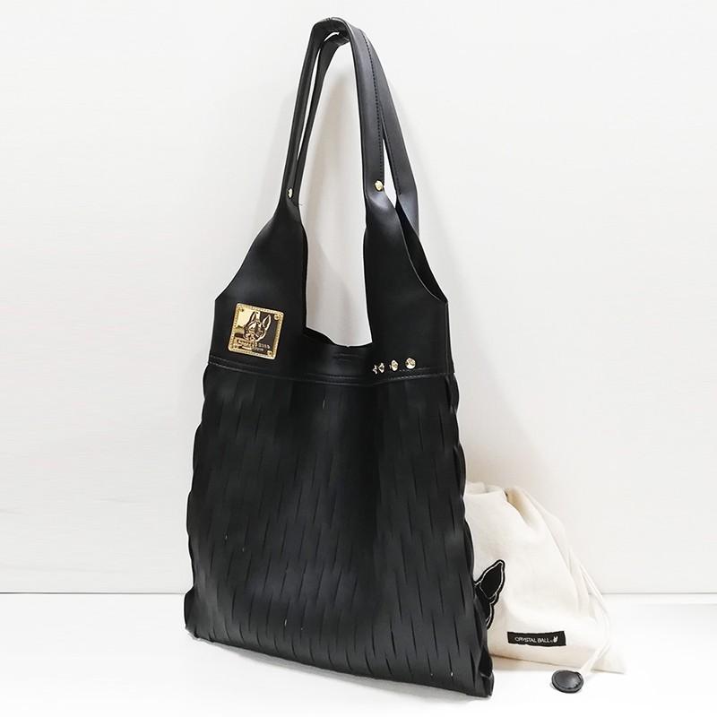 CRYSTAL BALL狗頭包 ( Mesh shoulder bag時尚手提包 )