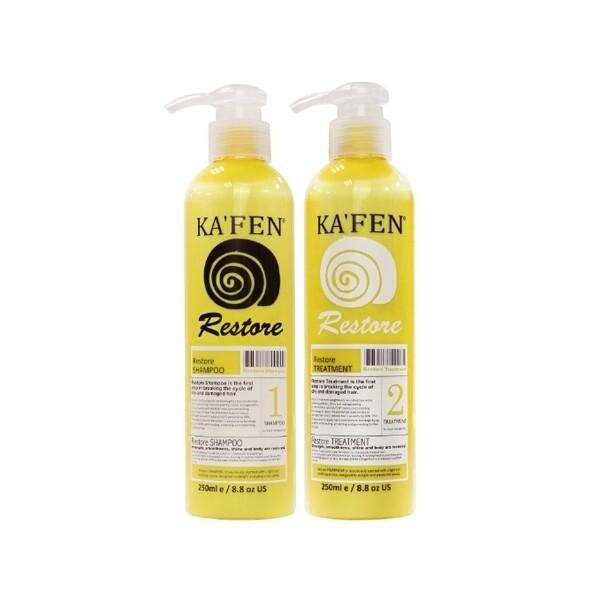 kafen-還原酸蛋白系列 蝸牛極致洗髮精/護髮素 (250ml)洗髮精/洗髮乳/護髮乳