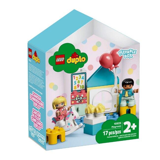 10925【LEGO 樂高積木】得寶 Duplo系列-遊戲房 (17pcs)