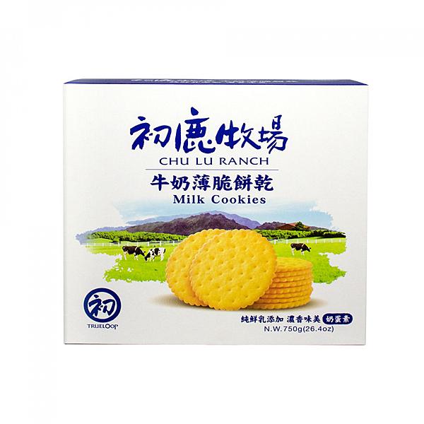 【初鹿牧場】初鹿鮮乳薄餅禮盒(3入裝)
