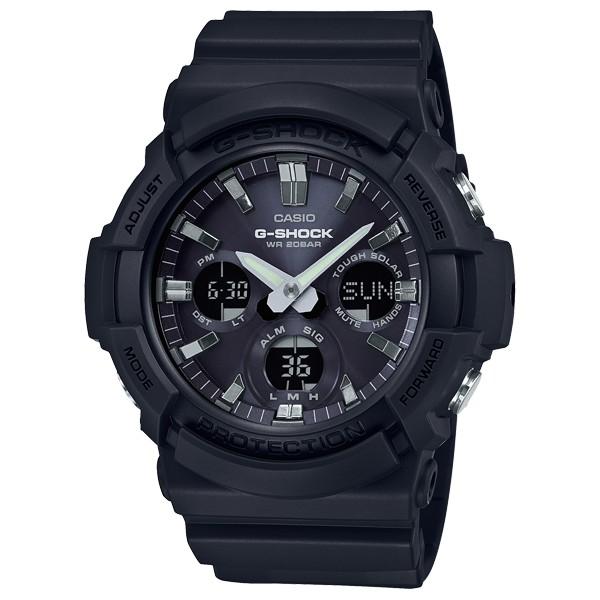 CASIO卡西歐 G-SHOCK 太陽能雙顯 指針手錶 (GAS-100B-1A) 現貨