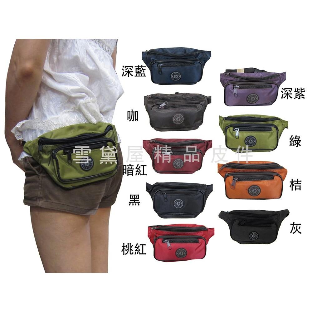 ~雪黛屋~philip 腰包小容量台灣製造隨身物品包運動休閒隨身包防水尼龍布材質防竊盜必備款輕便型全