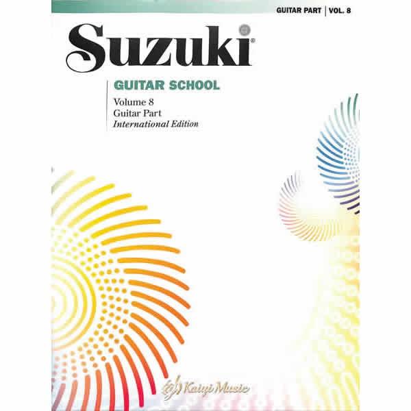 【KaiyiMusic】鈴木吉他單樂譜第8冊Suzuki Guitar School Guitar Part Vol.8