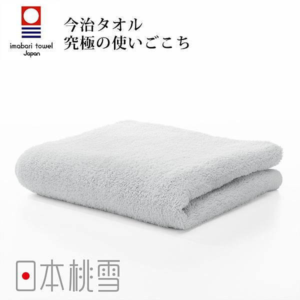 日本桃雪今治超長棉毛巾(冰灰色) 鈴木太太