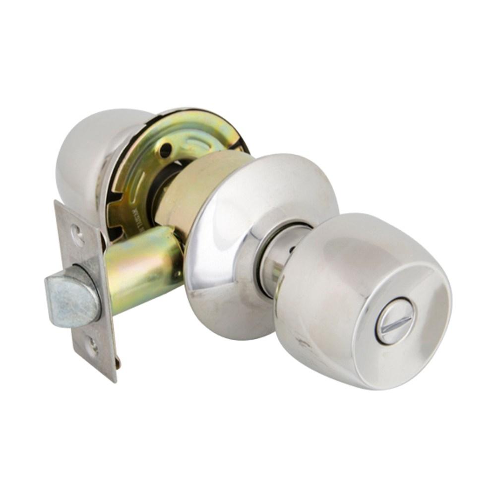 加安牌 喇叭浴廁鎖不鏽鋼拋光TC8310