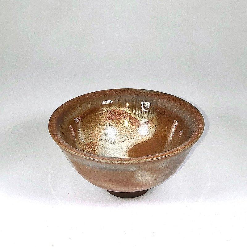 手作柴燒 志野小茶碗JC051