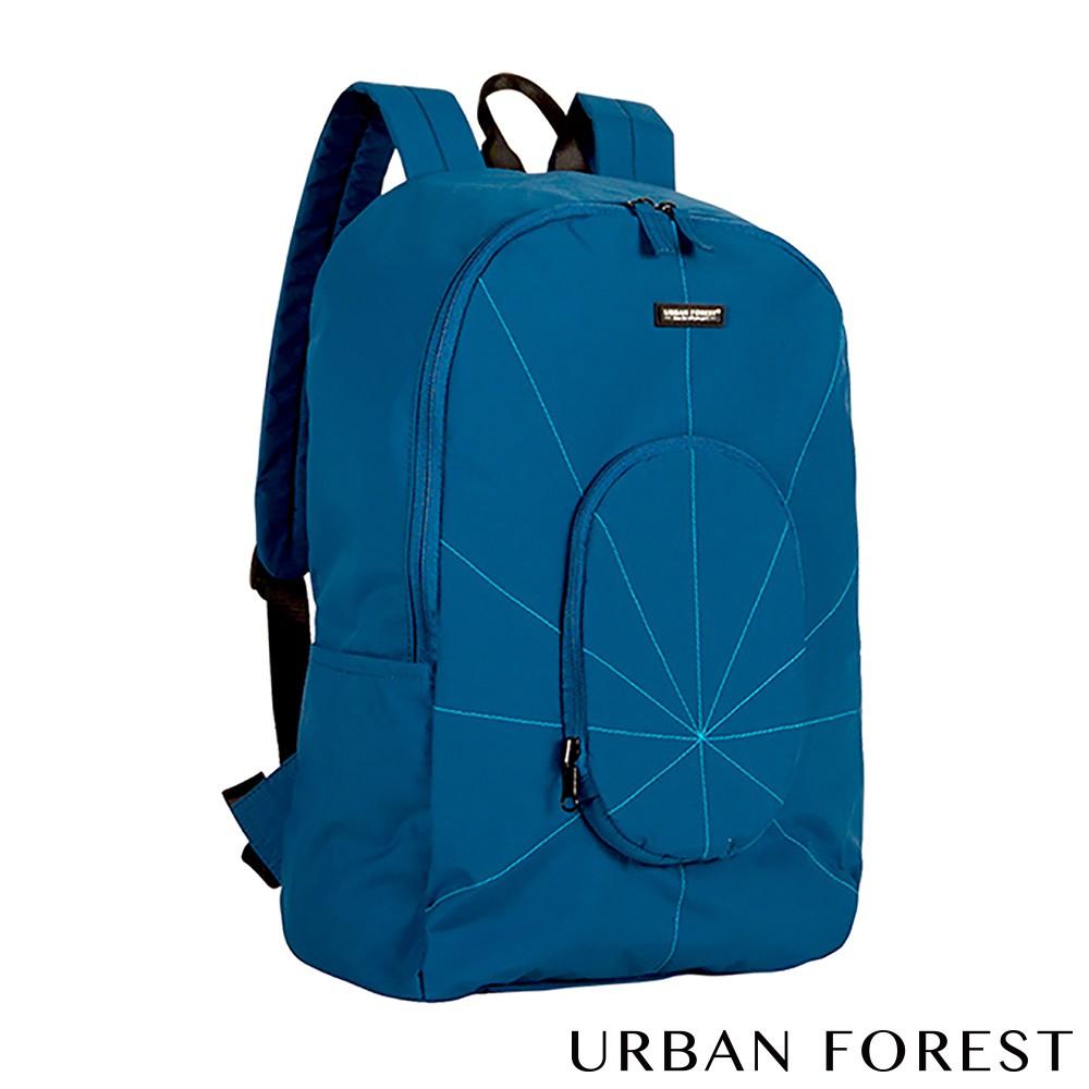 URBAN FOREST都市之森 樹-摺疊後背包/雙肩包 (深海藍)