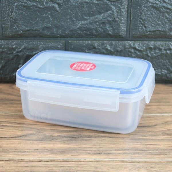 皇家分離式不銹鋼保鮮盒方型0.65l防漏餐盒隔熱便當盒k5003-大廚師百貨