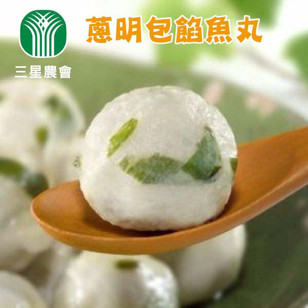【三星農會】蔥明包餡魚丸-500g-包 (1包)