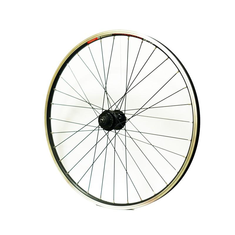26吋(559)登山車碟煞快拆式後輪輪組-搭配鎖牙式飛輪【後輪組】[04001364]