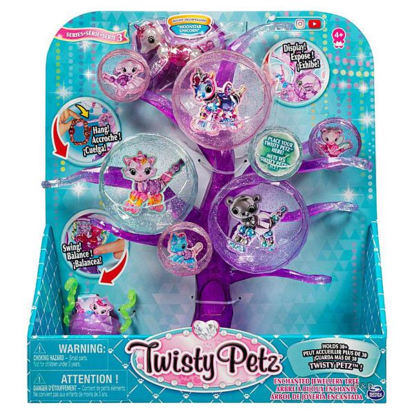 《 Twisty Petz 》寵物扭扭手鍊-樹狀首飾架 / JOYBUS玩具百貨
