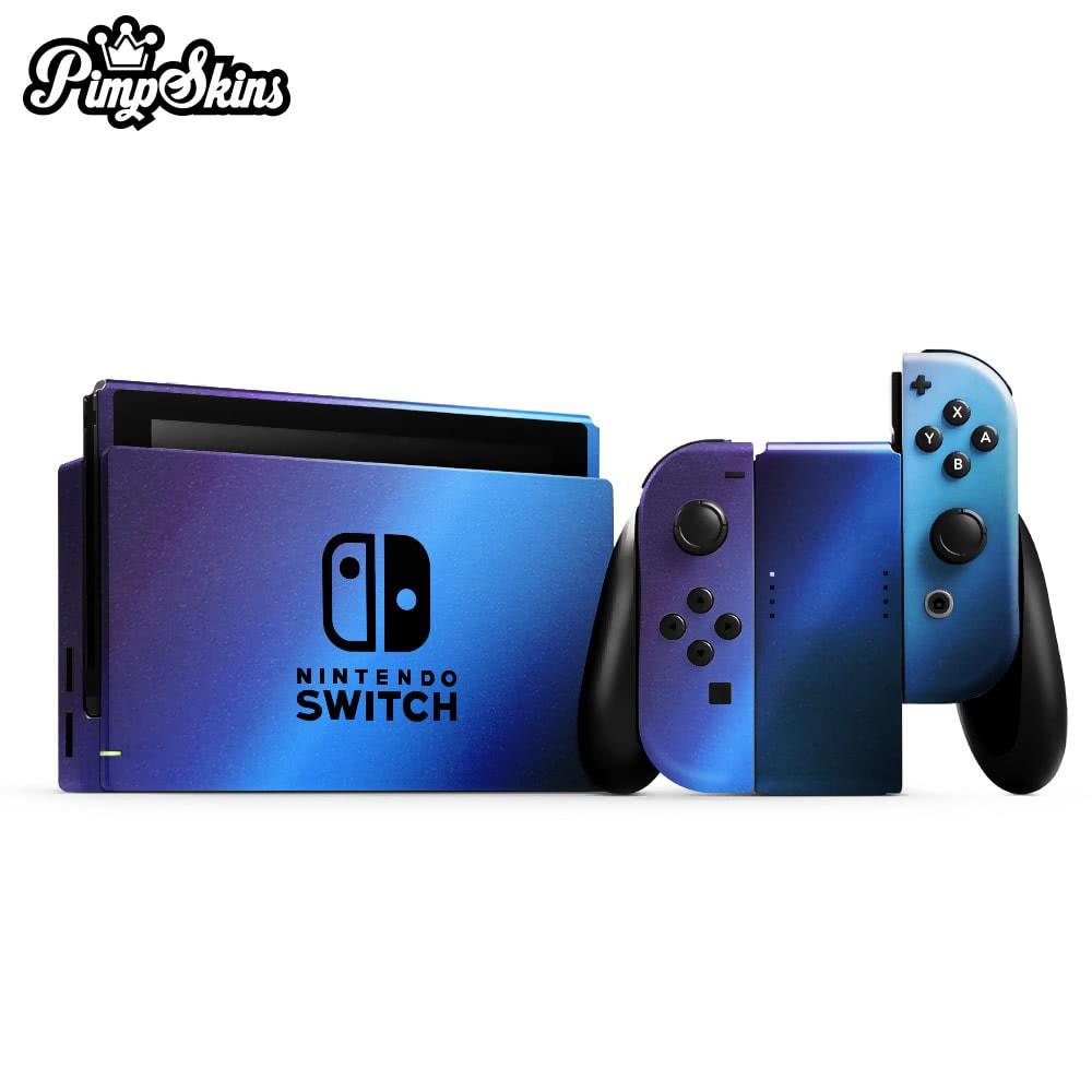 【PimpSkins】  任天堂 Nintendo Switch 專用包膜貼紙 貼膜貼紙-加勒比海變色龍