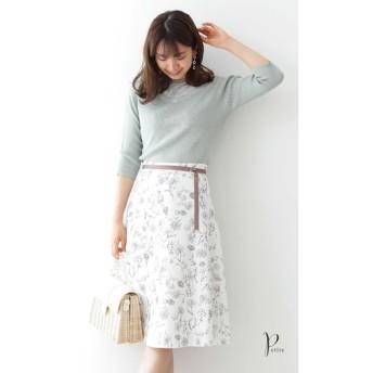 【プロポーションボディドレッシング/PROPORTION BODY DRESSING】 ◆フローラボタニカルフレアスカート