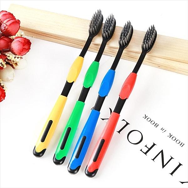 台灣現貨 韓版成人竹炭牙刷 超細軟毛牙刷 口腔牙刷 軟毛牙刷