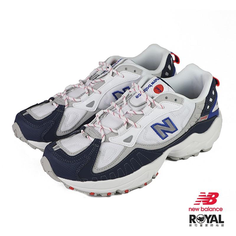 New balance 703 藍色 網布 運動休閒鞋 男款 NO.B1330【新竹皇家 ML703BED】