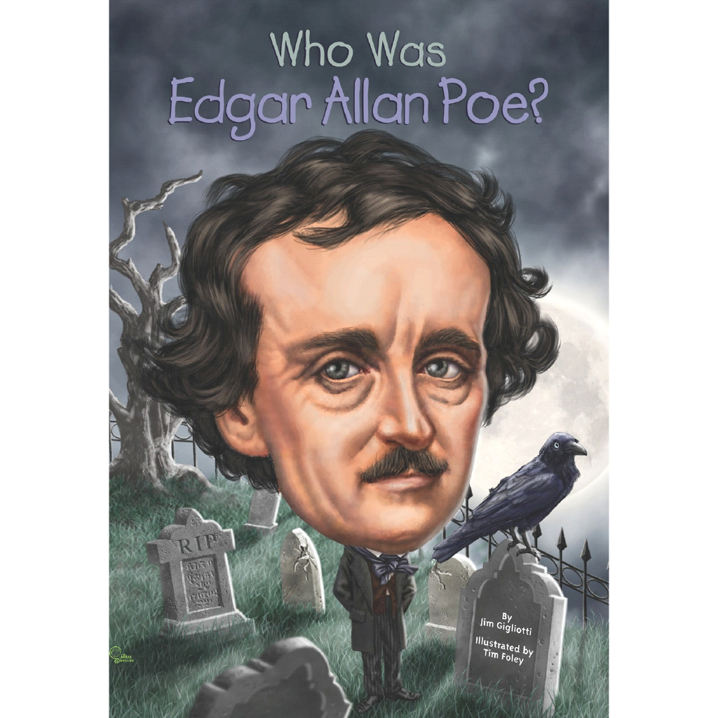 Who Was Edgar Allan Poe?【禮筑外文書店】[75折]