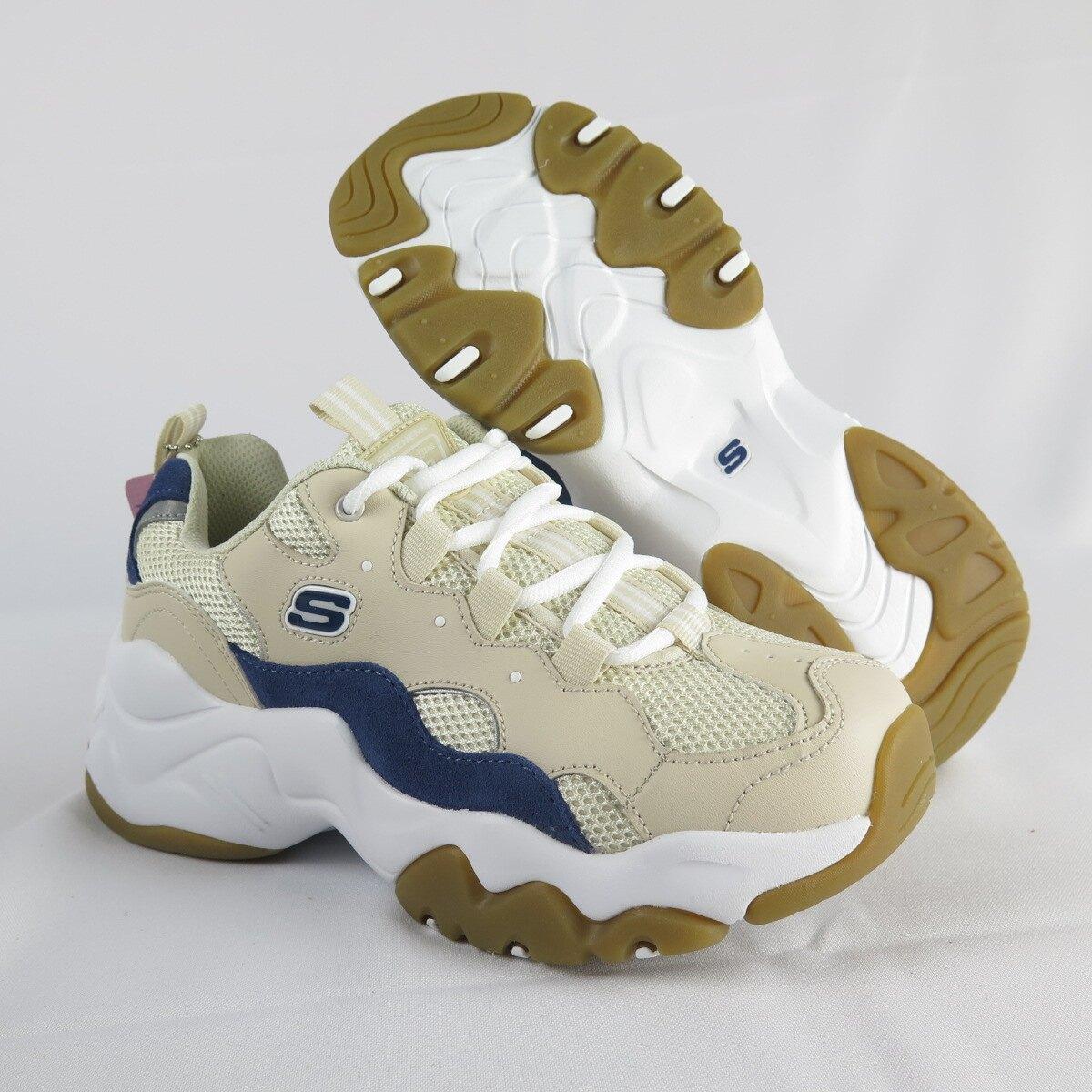 【滿額領券折$150】Skechers D'LITES 3.0 奶茶色老爹鞋 女款 88888210TAN【isport 愛運動】