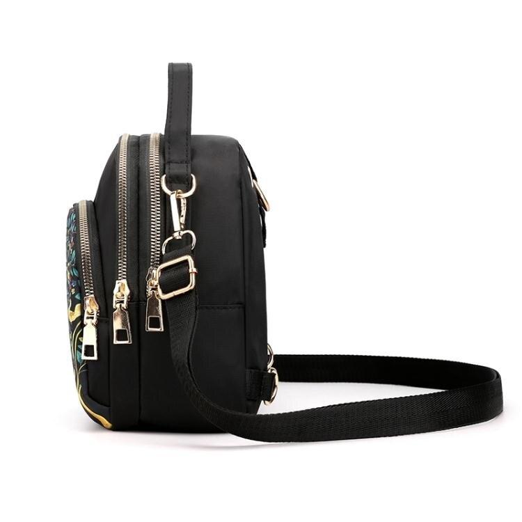 迷你後背包牛津布女包新款2020時尚斜背多用迷你小包包後背手提包防水尼龍布