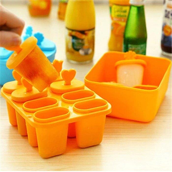 (現貨) 製冰 冰棒模具盒 2款 DIY冰棍模具 冰格冰盒 帶蓋冰棍 冰淇淋 冰棒盒 雪糕棒 製冰模具【正心堂】