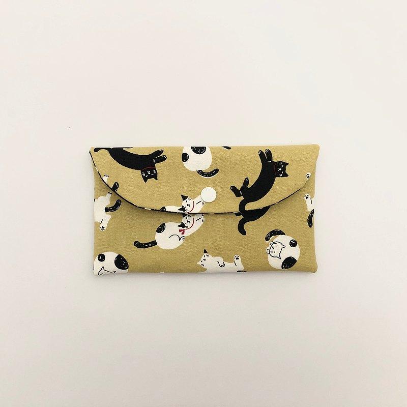 限量5組 小貓咪口罩收納袋 筆袋 存摺袋