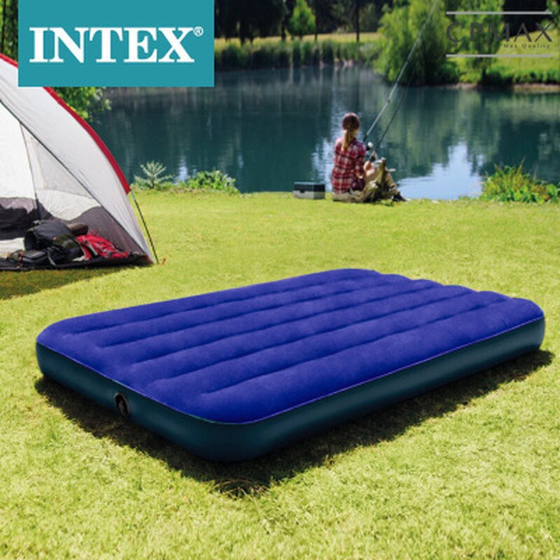 CPMAX 戶外雙人氣墊床 加高加厚 萬用耐磨 自動充氣 食品級環保PVC 充氣枕頭 插電自動充氣泵 自由搭配 H142