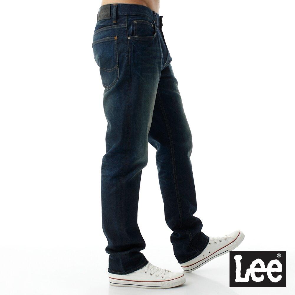 【領券滿1,200再折120】Lee 726 中腰標準小直筒牛仔褲 RG 男款 藍