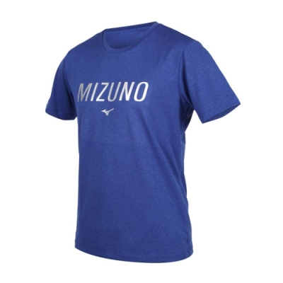 MIZUNO 男短袖T恤 藍銀 32TA001116