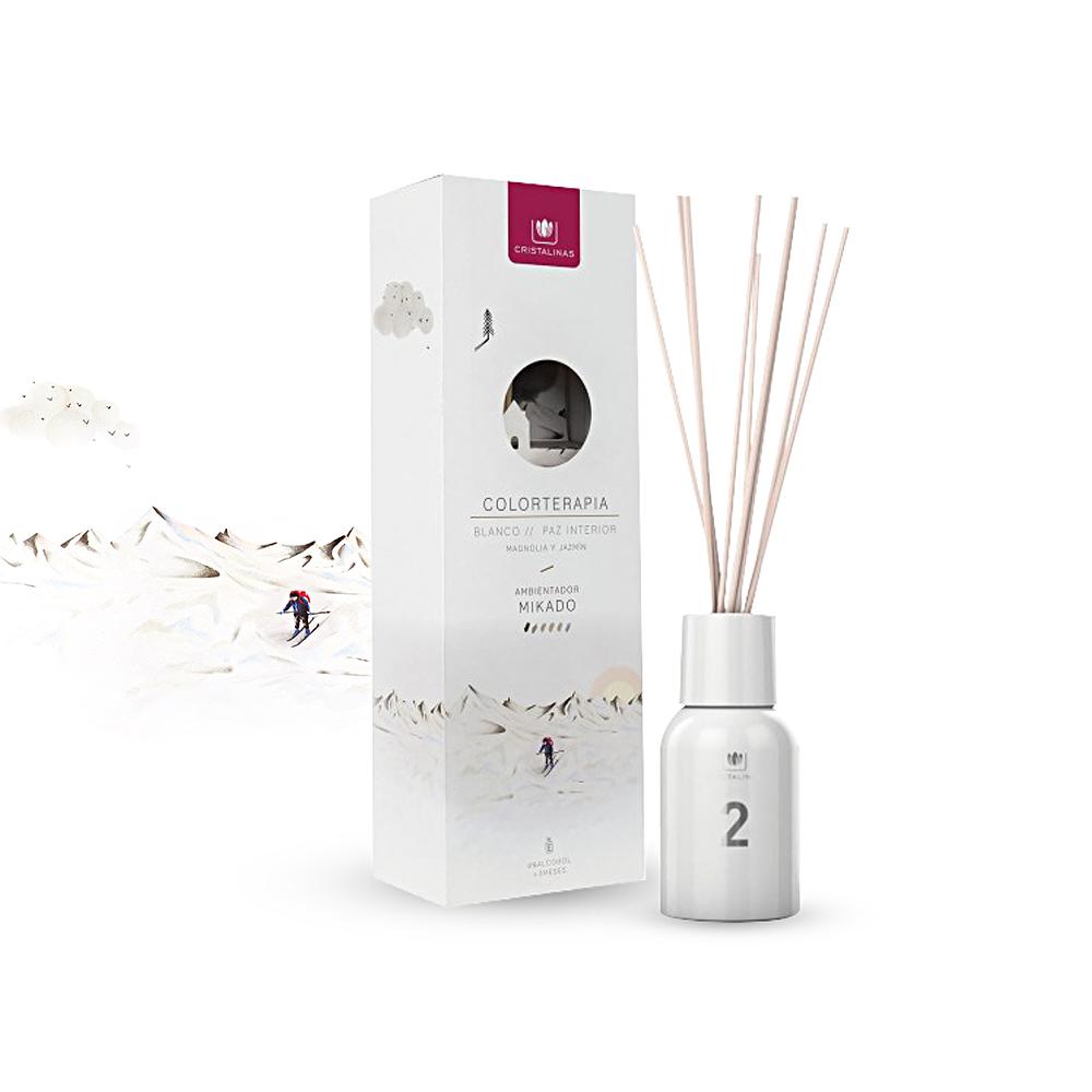 Cristalinas 色彩療法 複方香氛 125ML 雪地白/木蘭及茉莉花香調