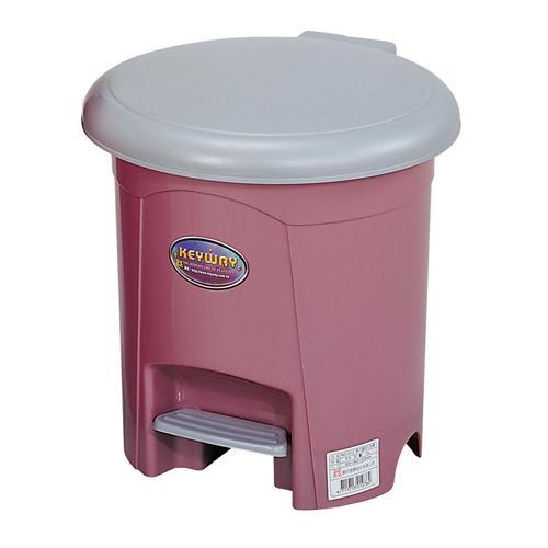 KEYWAY朝代10L圓型垃圾桶【愛買】