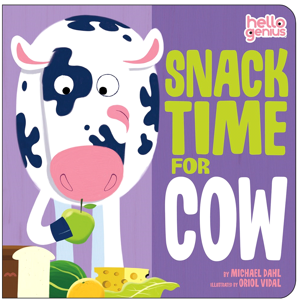 Snack Time for Cow【三民網路書店】(硬頁書)[79折]