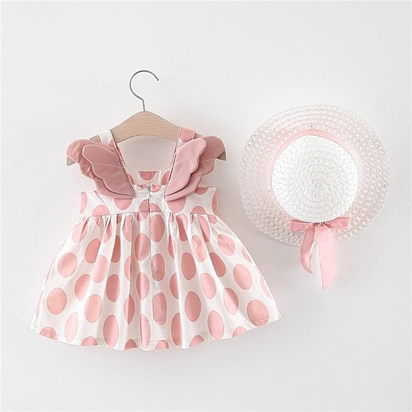 兒童連衣裙 裙子洋氣夏裝0一1-3歲兒童連衣裙韓版2女童洋氣公主寶寶裙子4【全館免運】