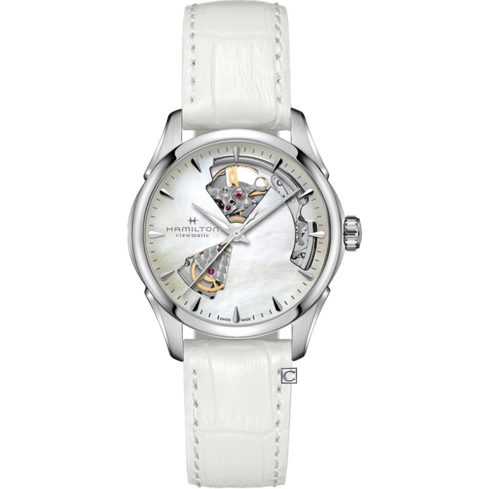 Hamilton 漢米爾頓 爵士系列 OPEN HEART LADY機械錶 H32215890