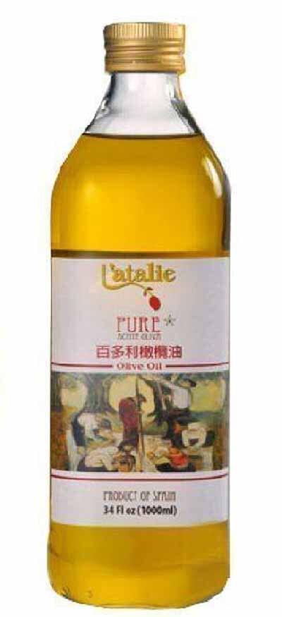 百多利橄欖油1L