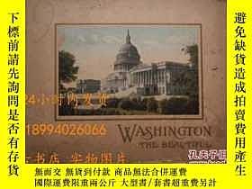 二手書博民逛書店民國:WASHINGTON罕見THE BEAUTIFUL華盛頓美