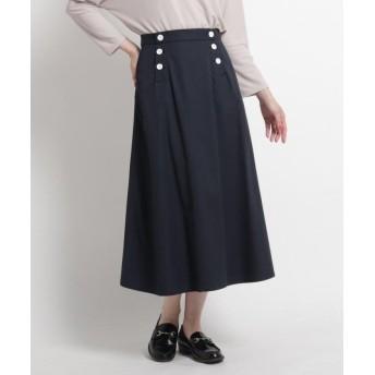 デッサン キュームコアツイルスカート レディース ネイビー(093) 01(S) 【Dessin】