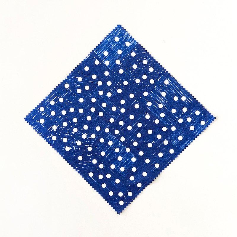 [Dots_blue]隨機點/藍色...擦眼鏡